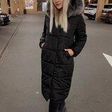 Теплый Пуховик-Пальто