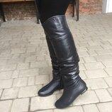 Сапоги женские кожаные зимние Nivelle