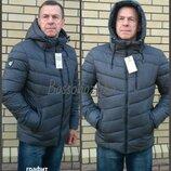 50-56, Мужская зимняя куртка. Мужской пуховик с капюшоном. Куртка теплая. Чоловіча зимова куртка