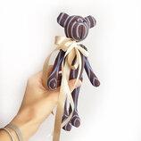 Шоколадный мишка тильда мягкая игрушка подарок дочке маме девушке подруге сувенир