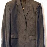 Мужской деловой классический костюм пиджак 2XL-3XL наш 56-58р мужские брюки большой размер