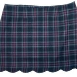 Asos мини юбка зима юбочка шерстяная на подкладке теплая зимняя L