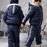 Зимний детский костюм на 3-5 лет Отличное состояние