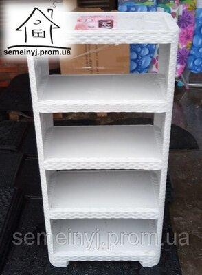 Пластиковая полка для обуви на 5 ярусов, обувная полка, этажерка, обувница