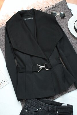 Пальто зара zara л размер 40 короткое пальто zara