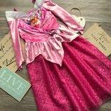 Платье принцесса Аврора нарядное Disney 7-8л