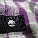 Мужская рубашка с коротким рукавом стрейч на кнопках DIESEL XL L Original