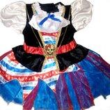 Прокат. Платья Маленькая пирата или Разбойница от 2 до 5 лет.