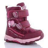 Термо ботинки для девочки бренда Y.Top р. 27-32 , код - 338