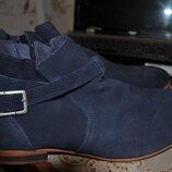 Pataugas стильные модельные демисезонные ботинки франция- португалия