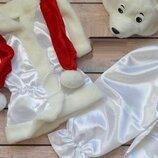 Костюм белого мишки, медвеженок 110-122р.