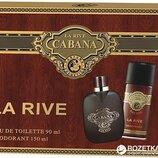 La Rive Cabana туалетная вода 90 мл дезодорант 150 мл