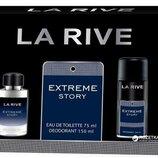 La Rive Extreme Story туалетная вода 75 мл дезодорант 150 мл