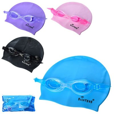 Набор для плавания D25637 очки, шапочка
