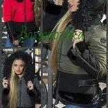 42,44,46,48, Зимняя молодежная куртка с капюшоном. женская куртка. Молодіжна зимова куртка