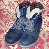 Ботинки Landrover замшевые, 39разм., 26,5см, для работы. Очень дешево.