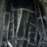 Р. 58-60.Натуральная мужская дублёнка на цегейке мутон . Большого размера. Батал.