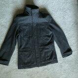 Стильное шерстяное пальто avant premiere, в идеале, качество