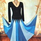 Платье из буретного шелка 44-48р