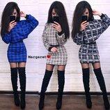 женский костюм юбка и топ с длинным рукавом мг 8465