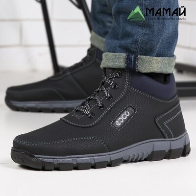 Зимние мужские ботинки Ecco -20 °C Черевики кроссовки сапоги Аб 38