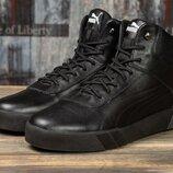 Мужские зимние ботинки кроссовки Puma.
