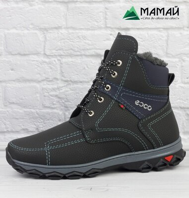 Зимние мужские ботинки Ecco -20 °C Черевики кроссовки сапоги Аб 14