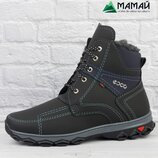 Зимние мужские ботинки Ecco -20 °C Черевики кроссовки сапоги АБ 14/2