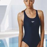 10 м 38 speedo черный спортивный цельный купальник для бассейна фитнеса