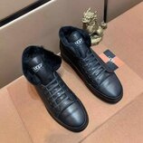 Высокие зимние кроссовки Ugg Winter High Top Black черные
