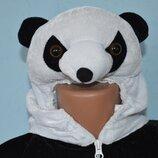 Карнавальный костюм медведя панды велюр