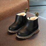 зимние ботинки для девочки и для мальчика