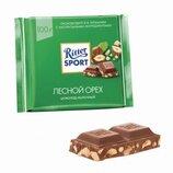 Ritter Sport - Молочный шоколад с лесными орехами, 100 гр.