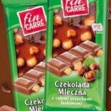 Шоколад молочный с цельными орехами Fin Carre 100g.