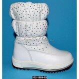 Зимние сапожки для девочки Тom.m, 27-32 размер, дутики, сапоги, 102-1889-05