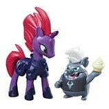 My Little Pony фигурки Темпест Шадоу Буря и Грубер C2486 B3596 Movie Tempest Shadow And Grubber