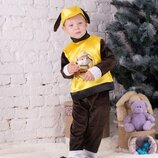 Детский костюм мультяшного персонажа.Крепыш герой мультфильма Щенячий патруль