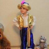 Эффектный детский костюм султана