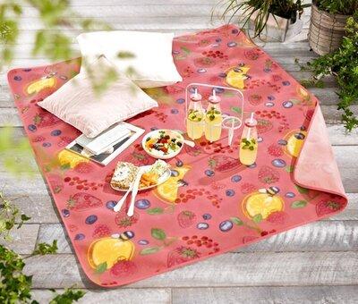 Красочная скатерть, коврик для пикника от тсм Tchibo чибо , Германия