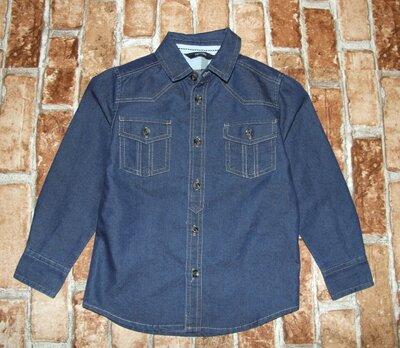 рубашка джинс 3-4 года George