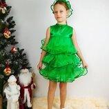 Детский карнавальный костюм елочки