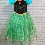 Карнавальное платье Анна Эльза Холодное Сердце