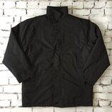 Универсальная черная мужская куртка со съемной подкладкой