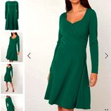 Платье декольте на запах от Doroty Perkins
