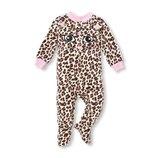 Человечек флисовый Леопард Бренд Children s Place Размеры 4 и 5 лет