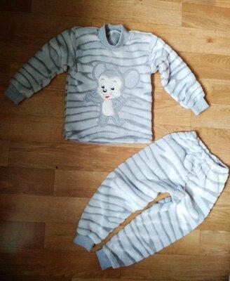 Пижама махра Мышка 86-128 см