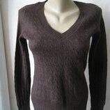 Джемпер, пуловер с ангорой, тонкий и теплый