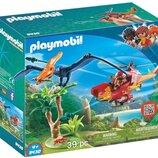 Конструктор Плеймобил PLAYMOBIL Adventure Copter with Pterodactyl Building Set