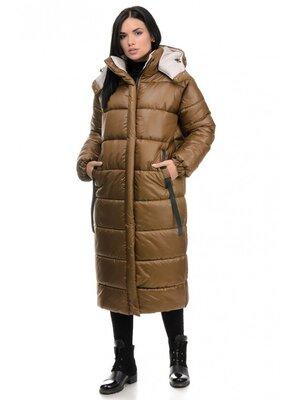 Пальто куртка длинная Зима, от производителя Цвета,