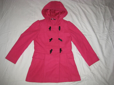 Куртка полу пальто George Англия на 8-9 лет на рост 128-134 см, Зимняя, Куртка на утеплителе подкла